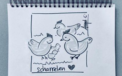 Scharrelen